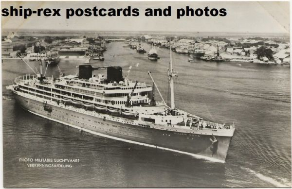 WILLEM RUYS (Royal Rotterdam Lloyd) postcard (b)